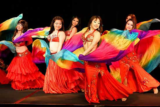 singapore belly dancing