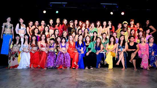 belly dancing singapore