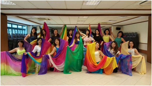 belly dancing performance